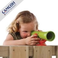 Детский пластиковый телескоп САМСОН КБТ, фото 1