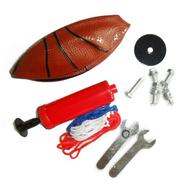 Баскетбольная детская стойка DFC KIDS1 телескопическая с кольцом, фото 1