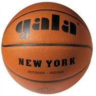 Мяч для игры в баскетбол - Gala NEW YORK 7 BB7021S, кожа, фото 1