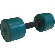 Гантель обрезиненная 6 кг, цветная MB-FitC-6, фото 1