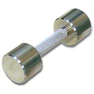 Гантель хромированная для фитнеса 4 кг MB-FitM-4, фото 1