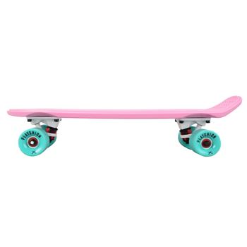 Скейтборд пластиковый PLAYSHION FS-PS001P (Розовый), фото 6
