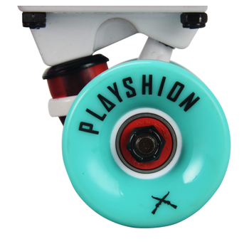 Скейтборд пластиковый PLAYSHION FS-PS001P (Розовый), фото 7