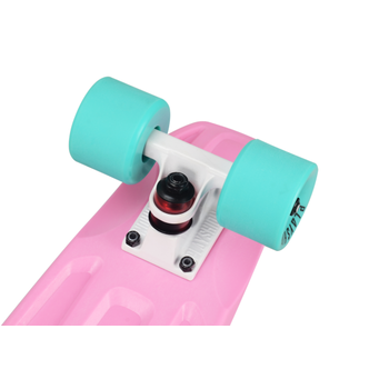 Скейтборд пластиковый PLAYSHION FS-PS001P (Розовый), фото 2