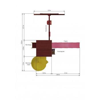 IGRAGRAD CLASSIC ПАНДА ФАНИ + винтовая горка, фото 4